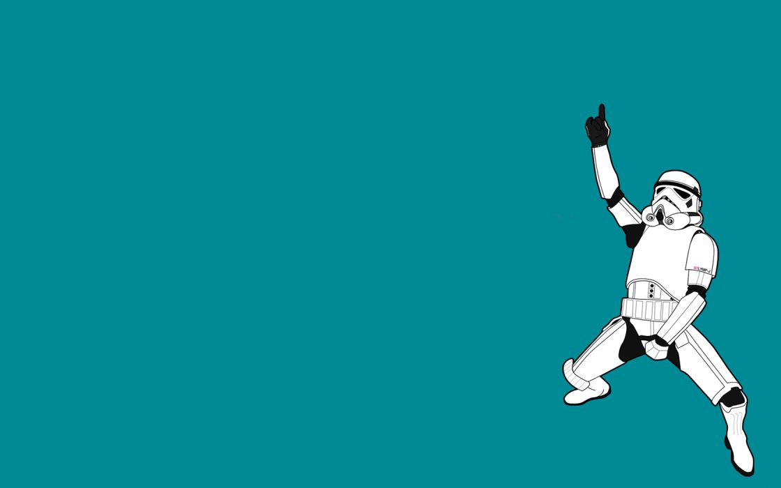 stormtroopers funny Threadless Star wars: The Clone wars simple background wallpaper
