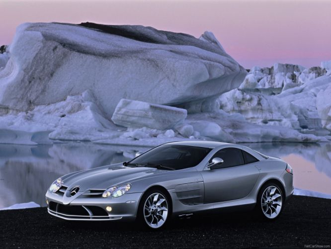 light cars Mercedes-Benz Mercedes-Benz SLR McLaren wallpaper