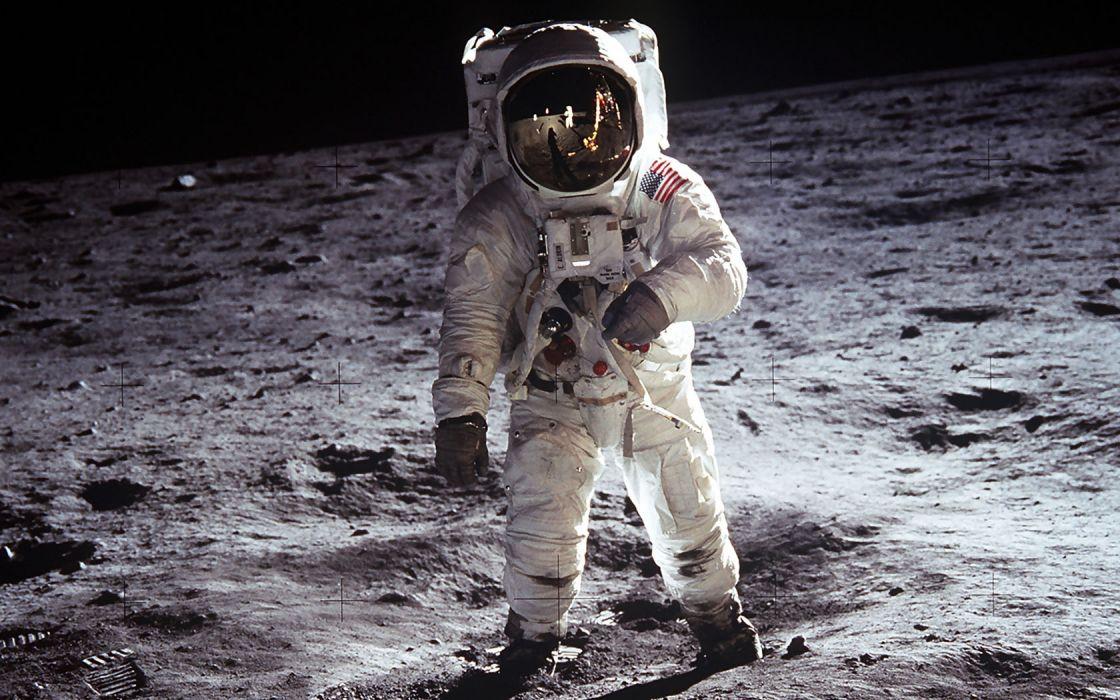 Moon astronauts space suits Apollo 11 Buzz Aldrin wallpaper