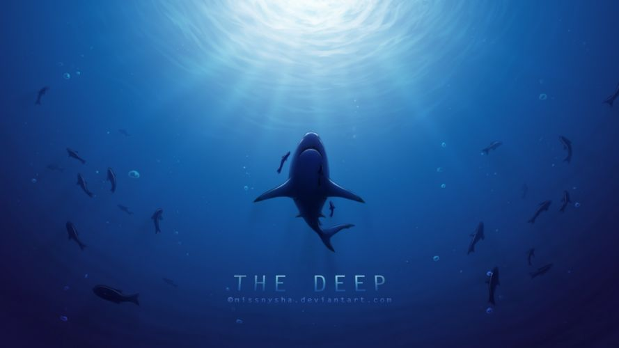 deep sea sharp wallpaper