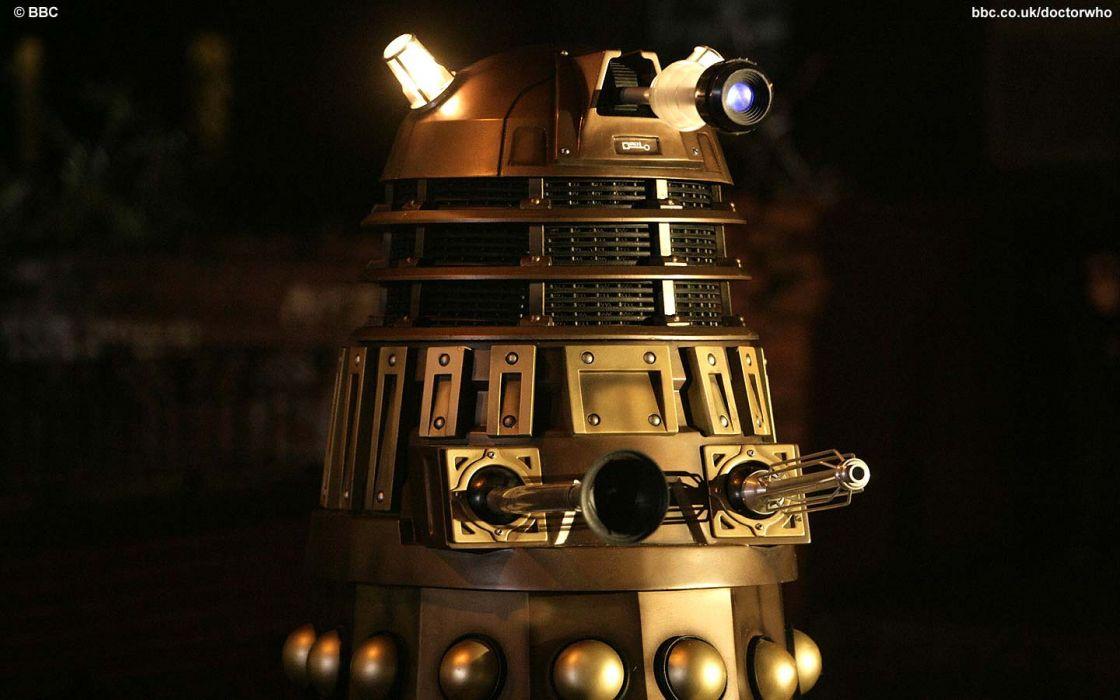 BBC Dalek Doctor Who wallpaper