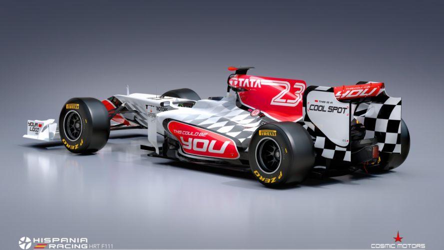 cars CGI Formula One wallpaper