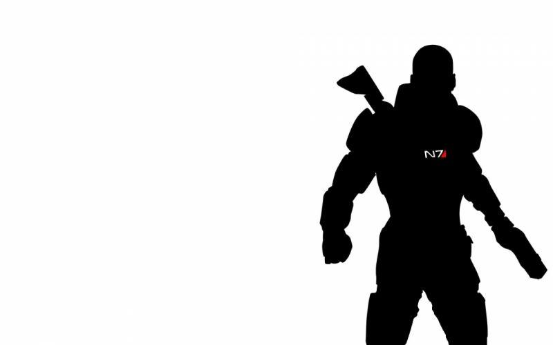 video games Mass Effect shepard wallpaper
