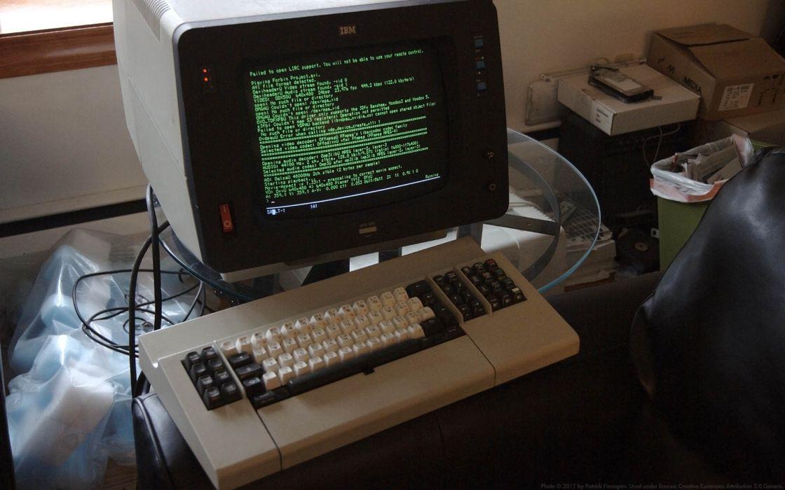 keyboards terminal computers history IBM wallpaper