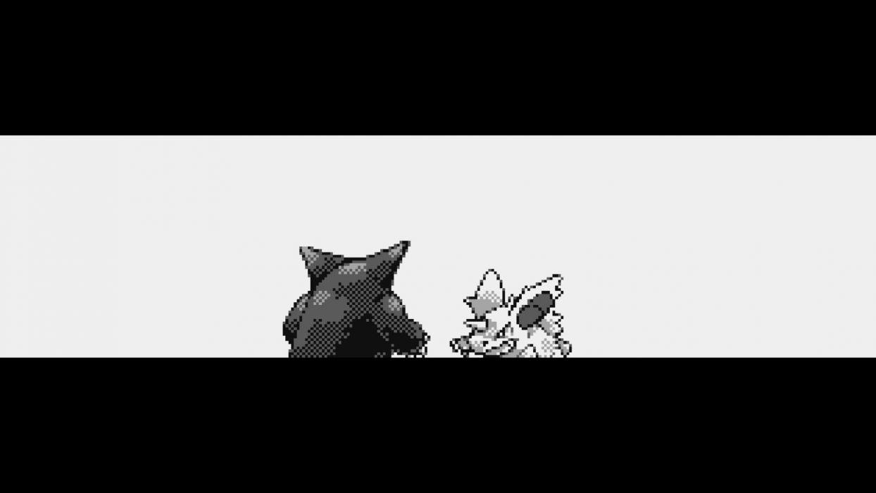 Pokemon Gengar Nidoran  wallpaper