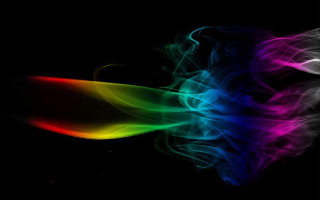 multicolor fire black background wallpaper