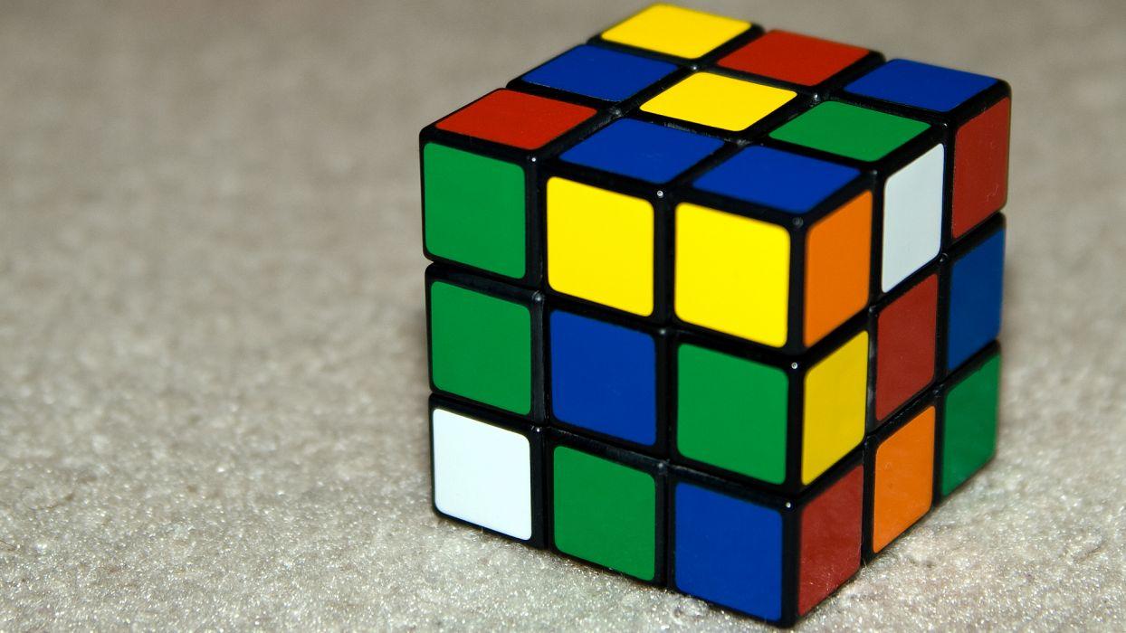 Cubes Rubiks Cube Wallpaper 1920x1080 191706 Wallpaperup