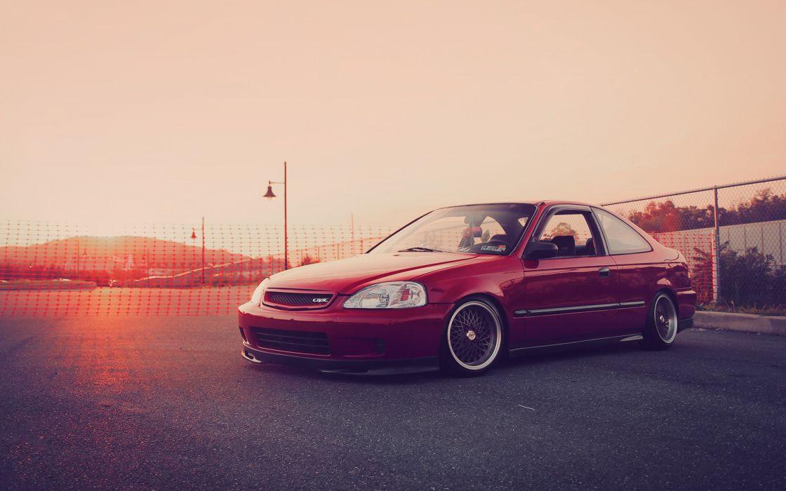 Cars Vehicles Honda Civic Si Wallpaper