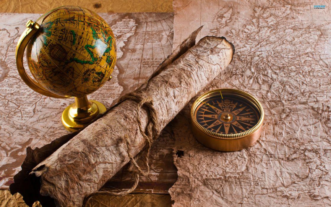 maps compasses globe wallpaper