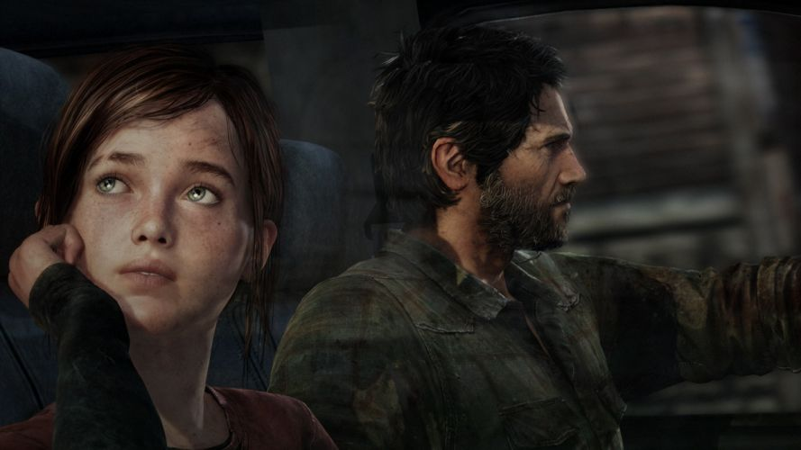 video games naughty dog Playstation 3 The Last of Us Joel Ellie Sony Computer Entertainment wallpaper