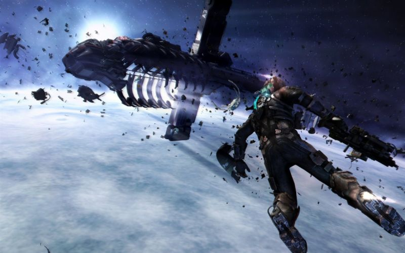 outer space Dead Space Dead Space 3 wallpaper
