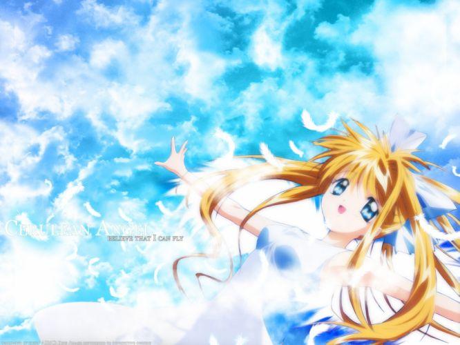 Kamio Misuzu anime girls Air (anime) wallpaper