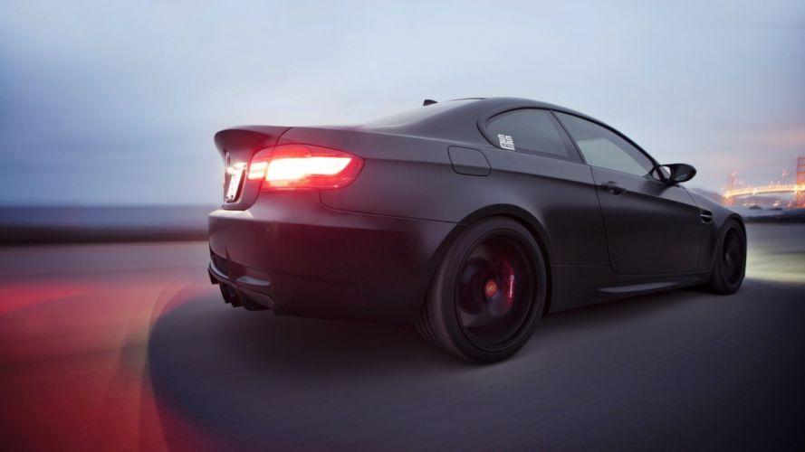 BMW cars vehicles BMW M3 matte colored BMW M3 E92 automobile wallpaper