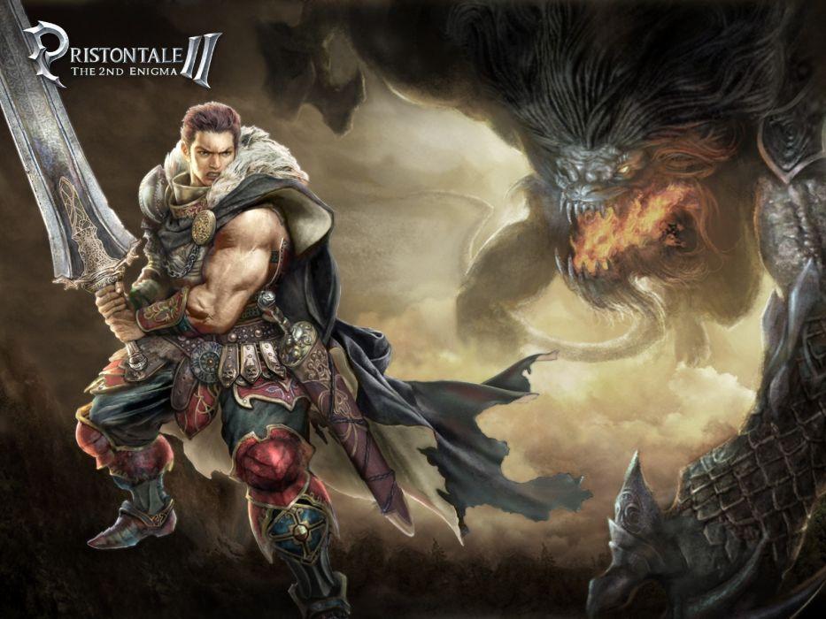 video games artwork MMORPG Pristontale wallpaper