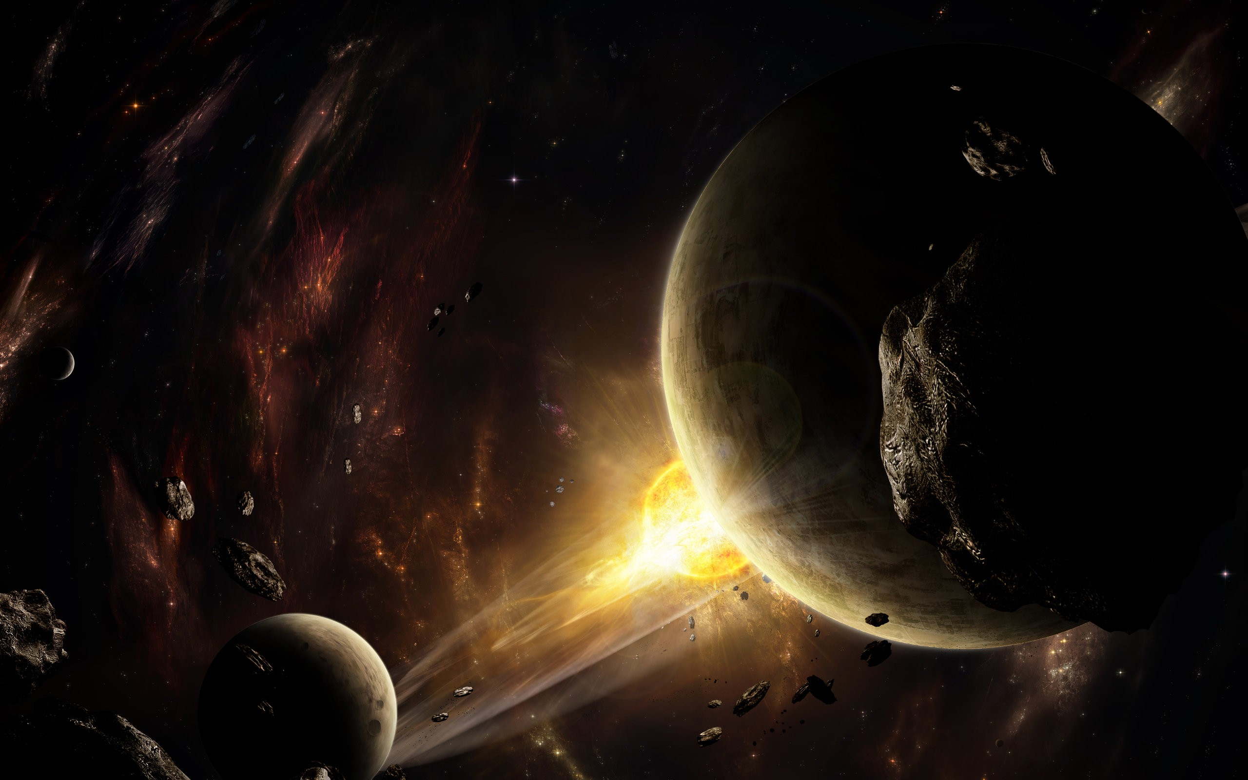 planets asteroids stars - photo #22