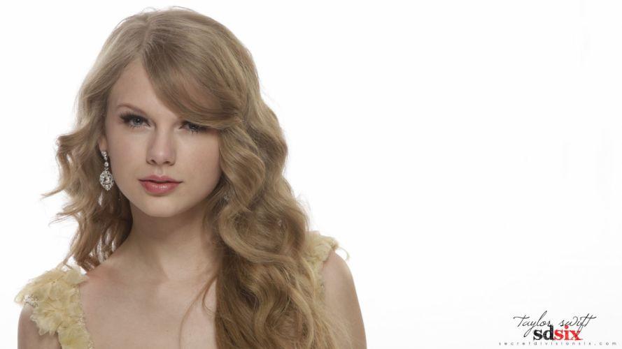 blondes women music Taylor Swift models celebrity singers white background wallpaper