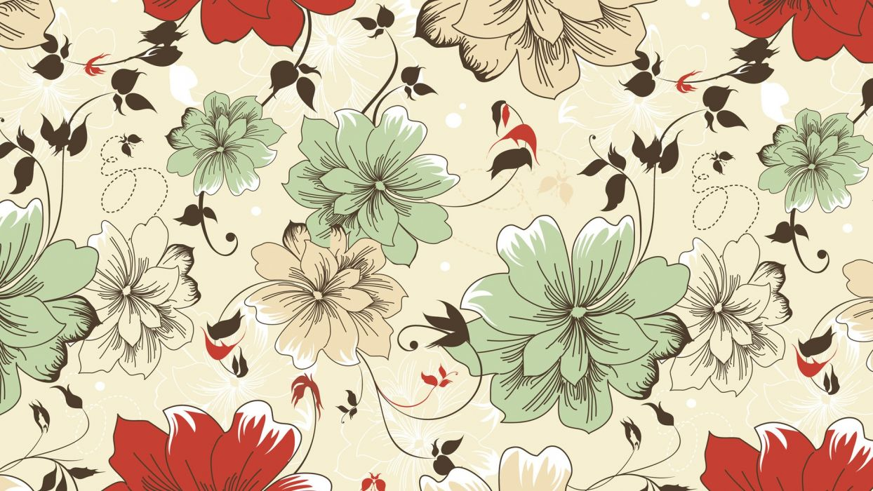 patterns floral texture wallpaper