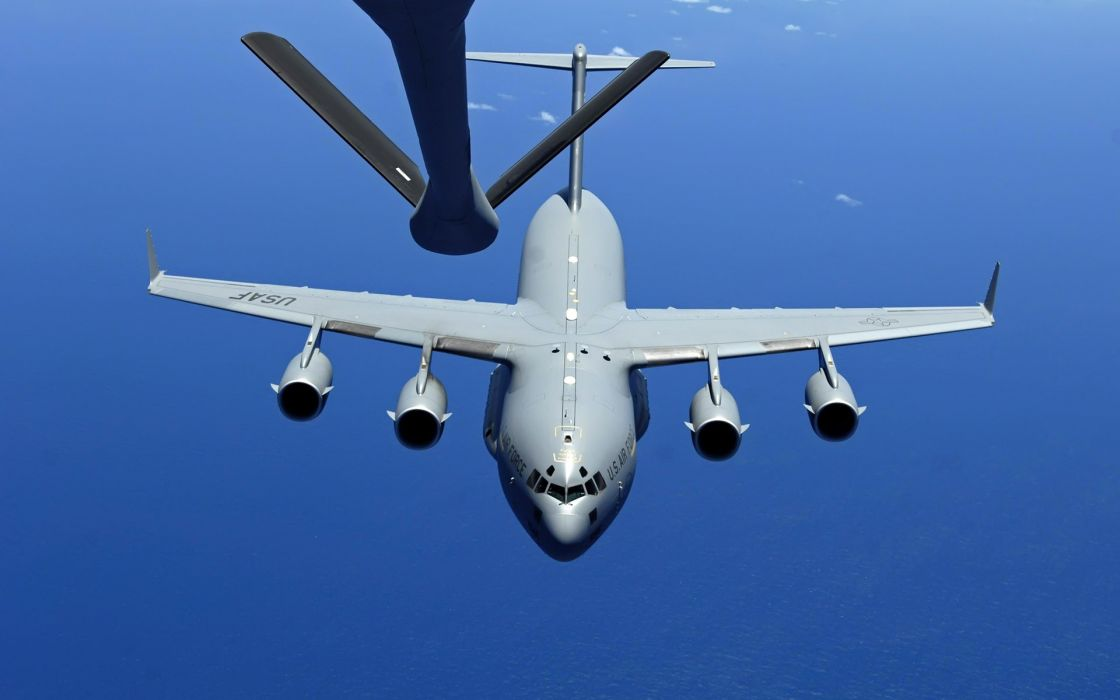 war airplanes planes C-17 Globemaster wallpaper