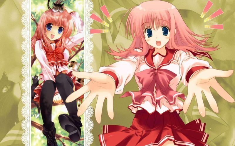school uniforms To Heart To Heart 2 Kouno Harumi wallpaper