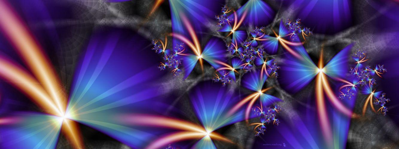 abstract fractals blatte wallpaper