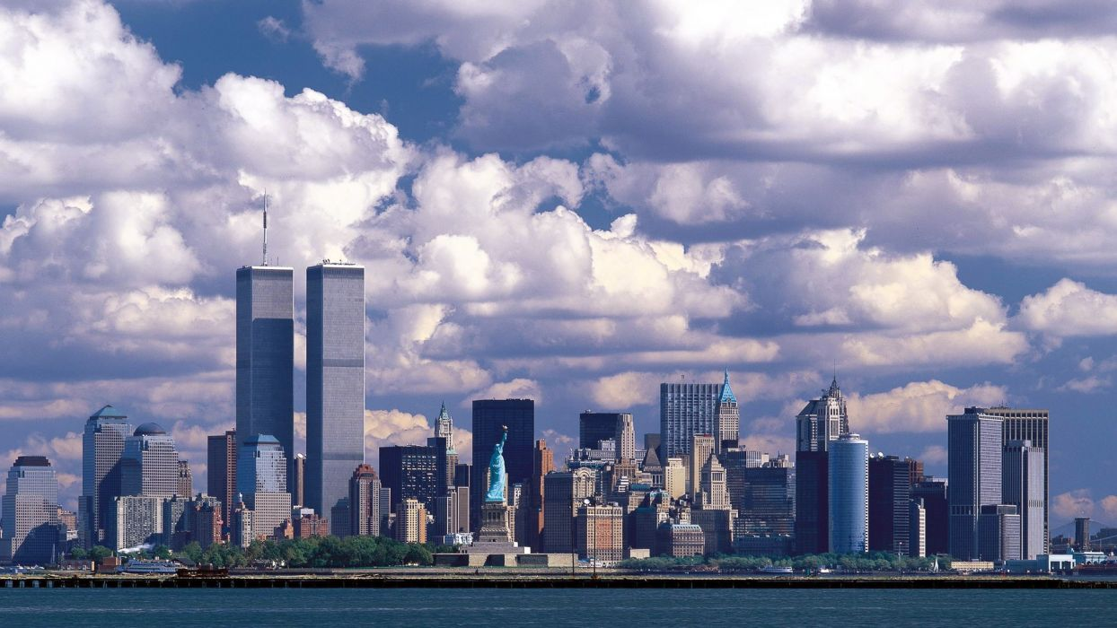 cityscapes architecture New York City towns wallpaper