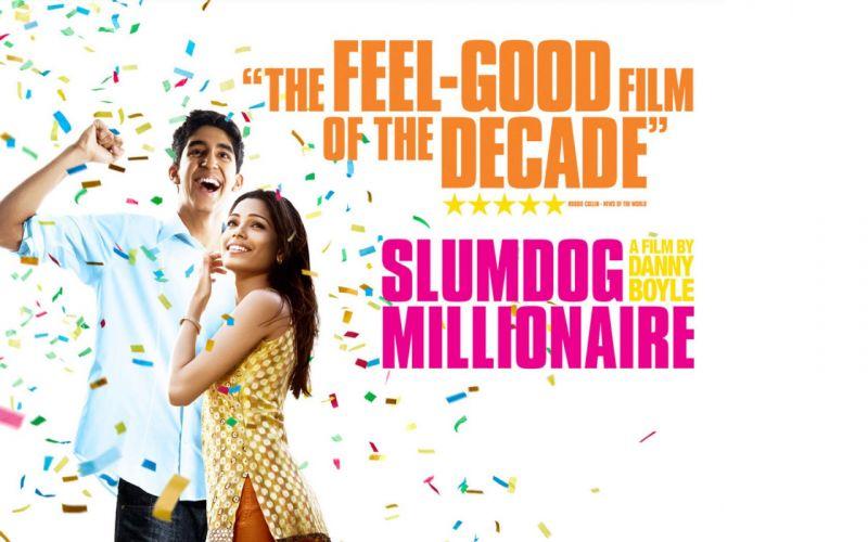 movies Freida Pinto Slumdog Millionaire wallpaper