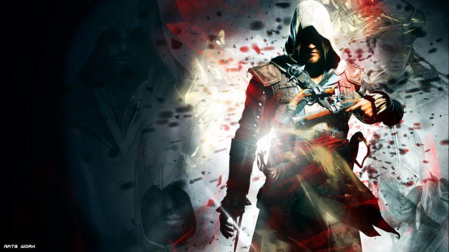 Assassins Creed Assassins Creed 4: Black Flag Edward Kenway wallpaper