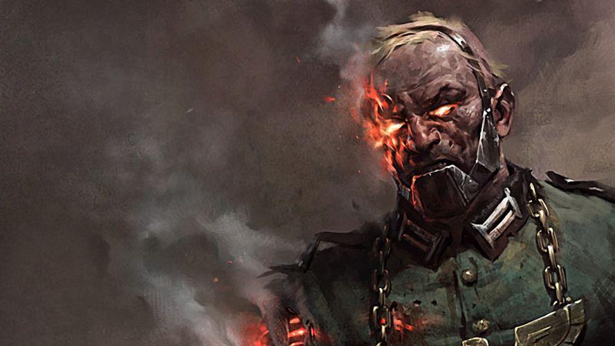 zombies Nazi artwork wallpaper
