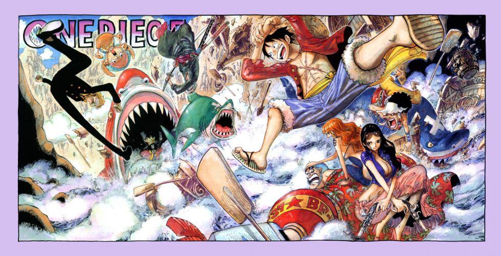 One Piece (anime) manga Strawhat pirates wallpaper