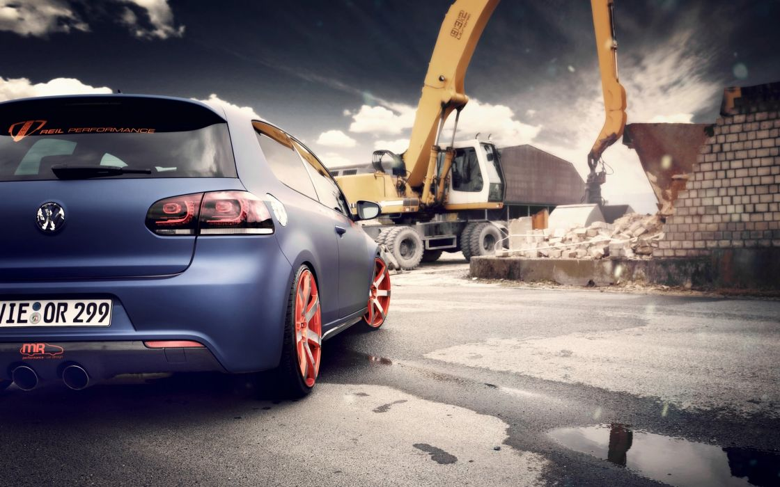 cars static Volkswagen Golf BBM wallpaper