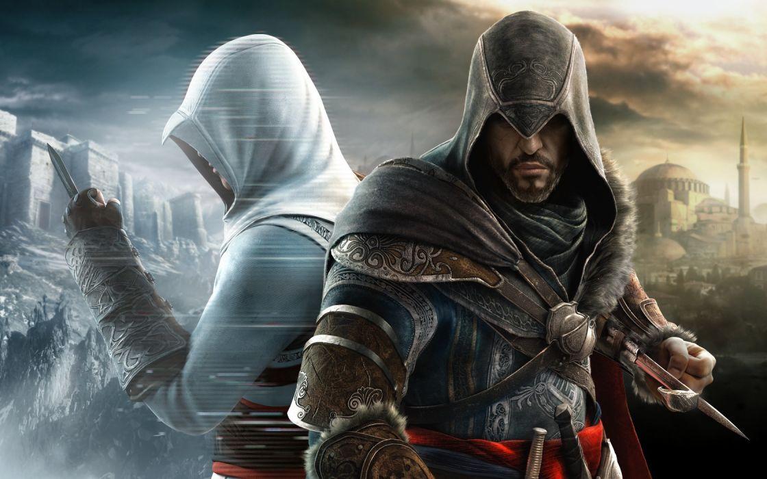 video games Assassins Creed Assassins Creed Revelations Ezio Auditore da Firenze wallpaper