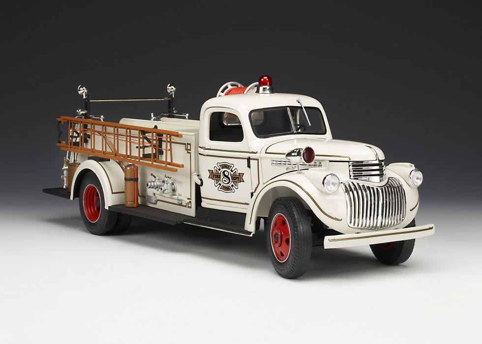 1946 Chevrolet FireTruck emergency retro  g wallpaper