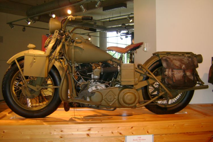 1940 HARLEY DAVIDSON retro motorbike bike g wallpaper