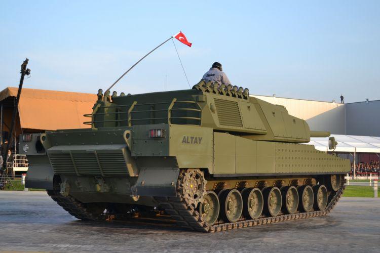 ALTAY MBT TANK weapon military tanks da wallpaper