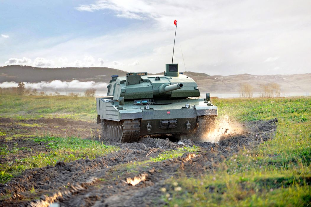 ALTAY MBT TANK weapon military tanks   d wallpaper
