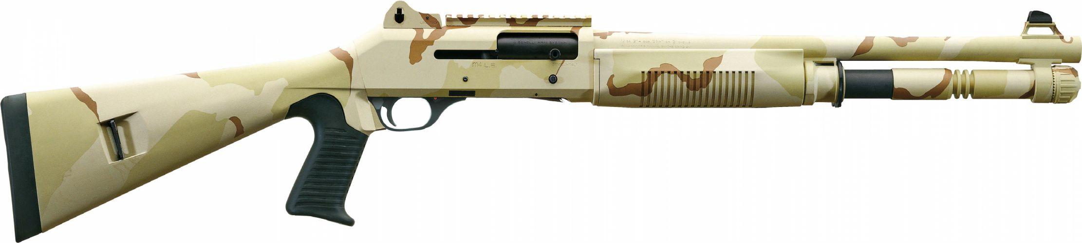 Benelli M-4 super90 weapon gun military shotgun te wallpaper