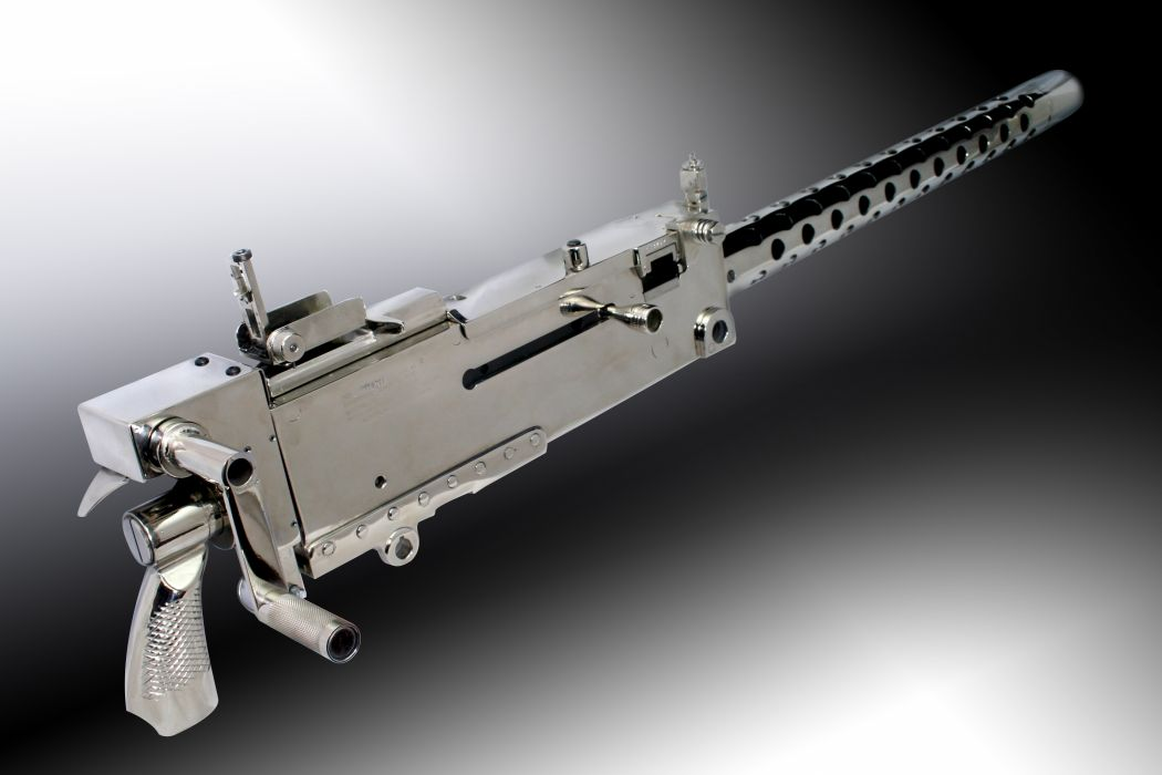 BROWNING 1919a4 Machine Gun weapon military rifle     t wallpaper