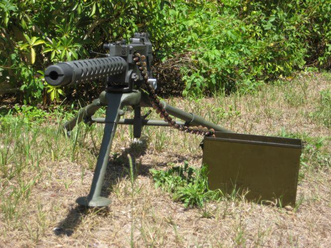 BROWNING 1919a4 Machine Gun weapon military rifle ammo r wallpaper