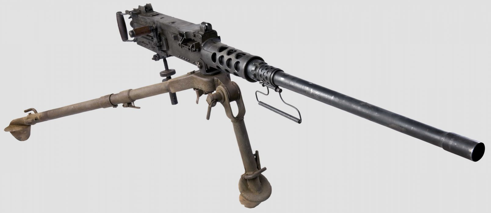 BROWNING M-2 50-cal Machine Gun weapon military rifle         t wallpaper