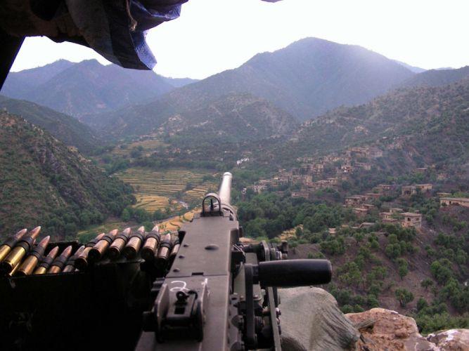 BROWNING M-2 50-cal Machine Gun weapon military rifle ammo r wallpaper