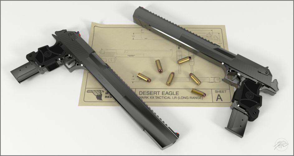 DESERT EAGLE weapon gun pistol ammo t wallpaper