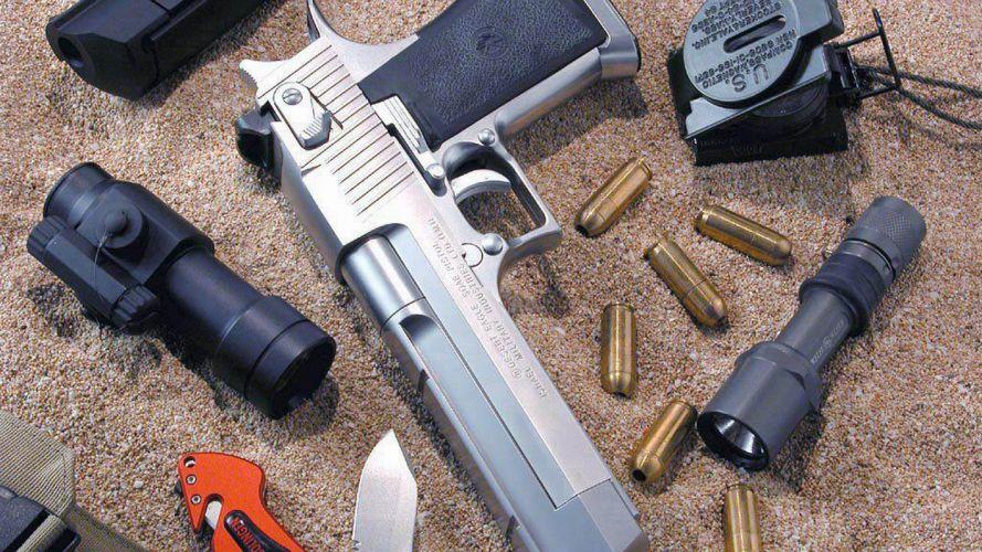 DESERT EAGLE weapon gun pistol ammo f wallpaper