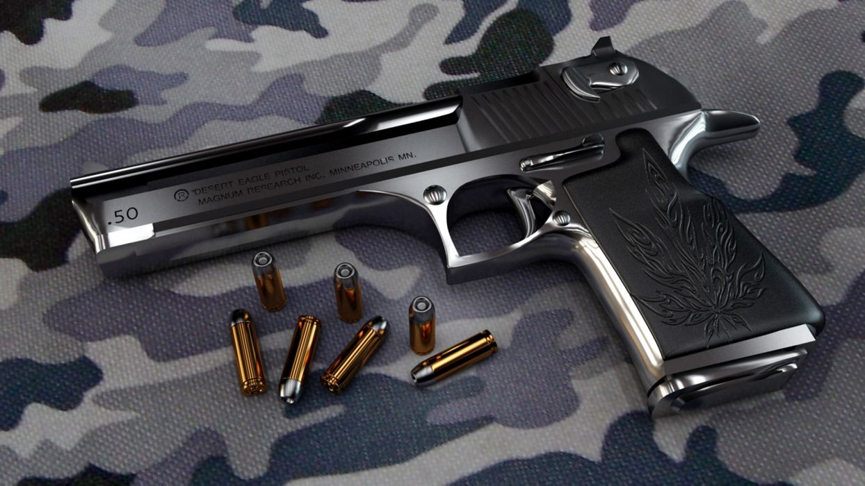 DESERT EAGLE weapon gun pistol military ammo   f wallpaper