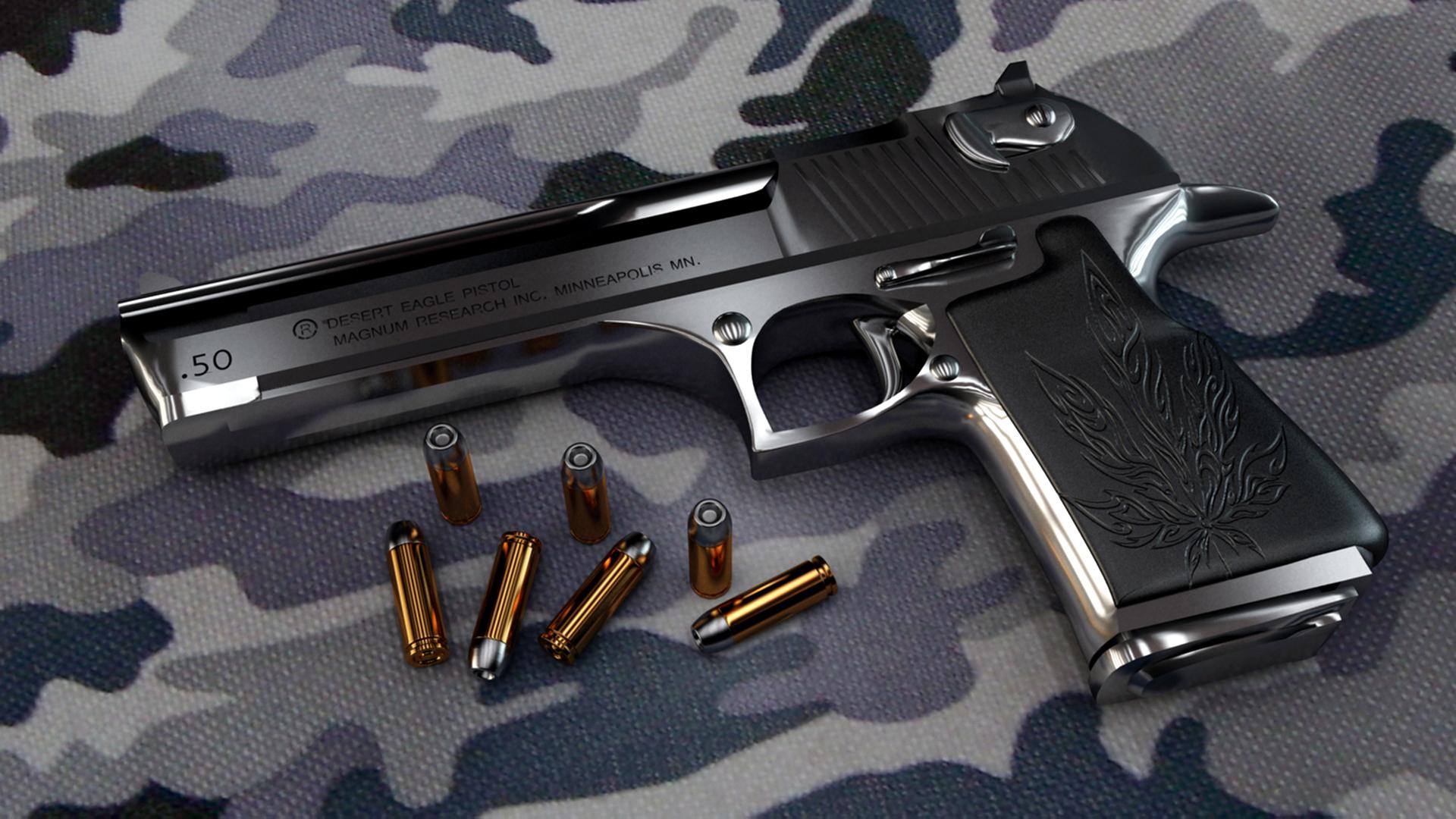 Gun Ammo Wallpaper Gun Pistol Military Ammo f