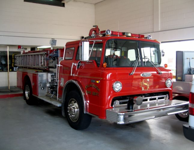 FIRETRUCK emergency ford g wallpaper