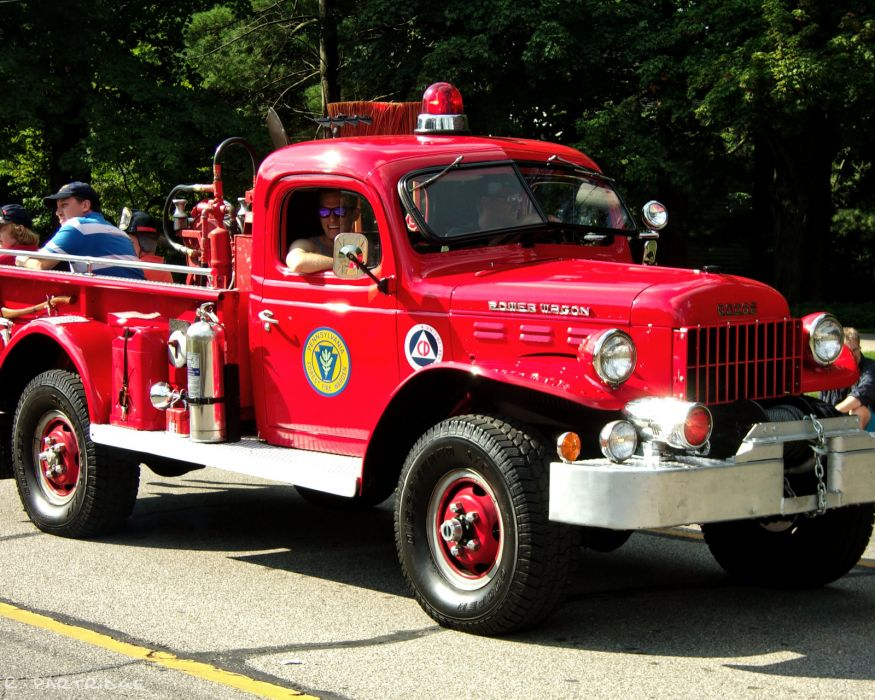 FIRETRUCK emergency retro dodge      g wallpaper