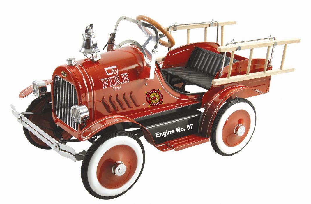 FIRETRUCK emergency retro toy       g wallpaper