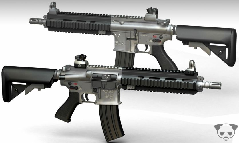 Heckler & Koch 416 weapon gun military rifle gd wallpaper