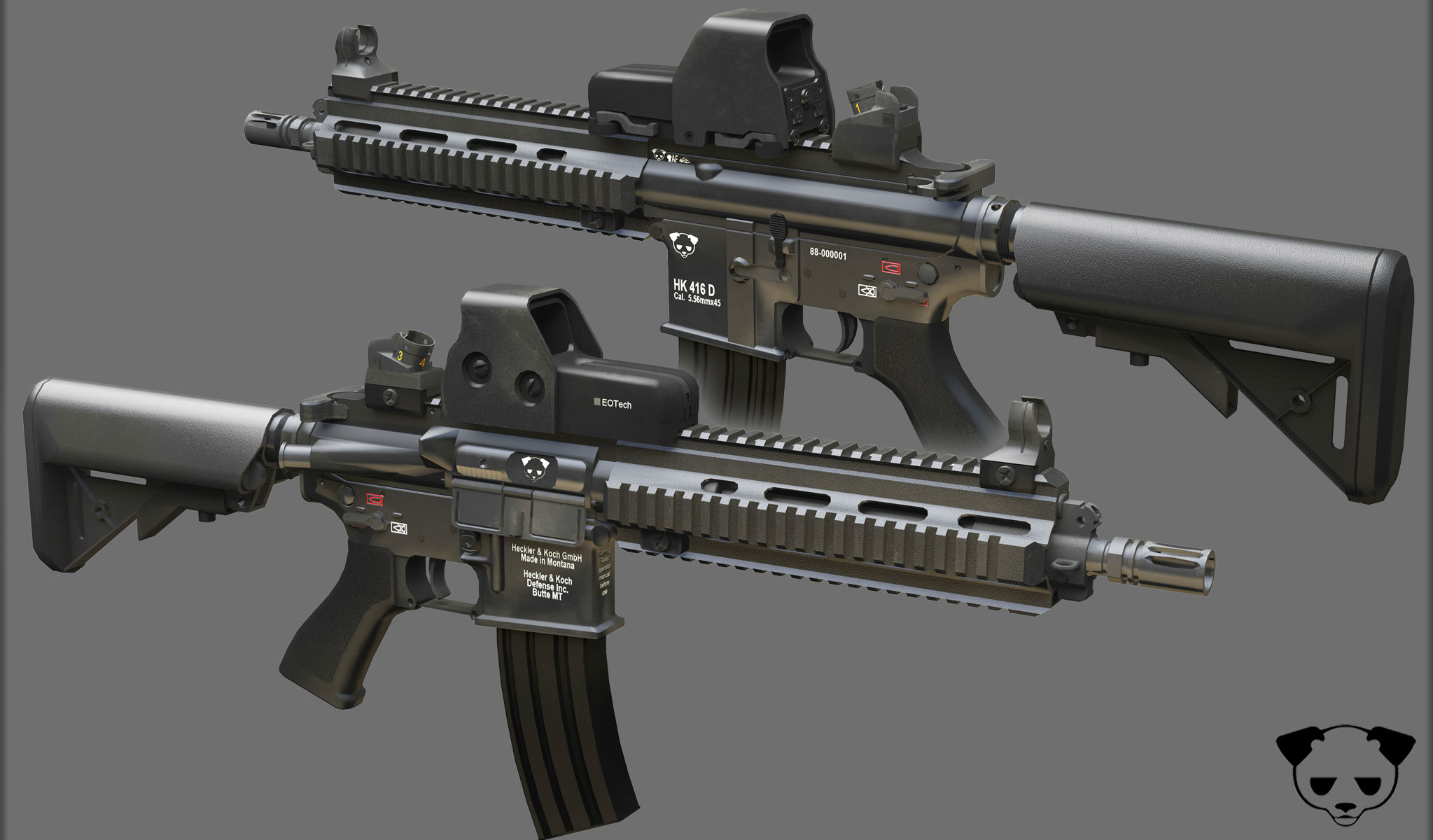 Heckler And Koch Wallpaper Heckler  amp Koch 416 weapon