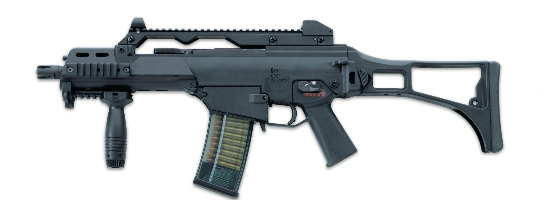 Heckler & Koch G36 weapon gun military rifle     g wallpaper